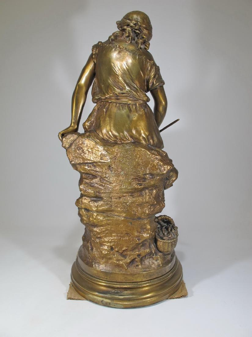 Auguste MOREAU (1834-1917) bronze sculpture - 6