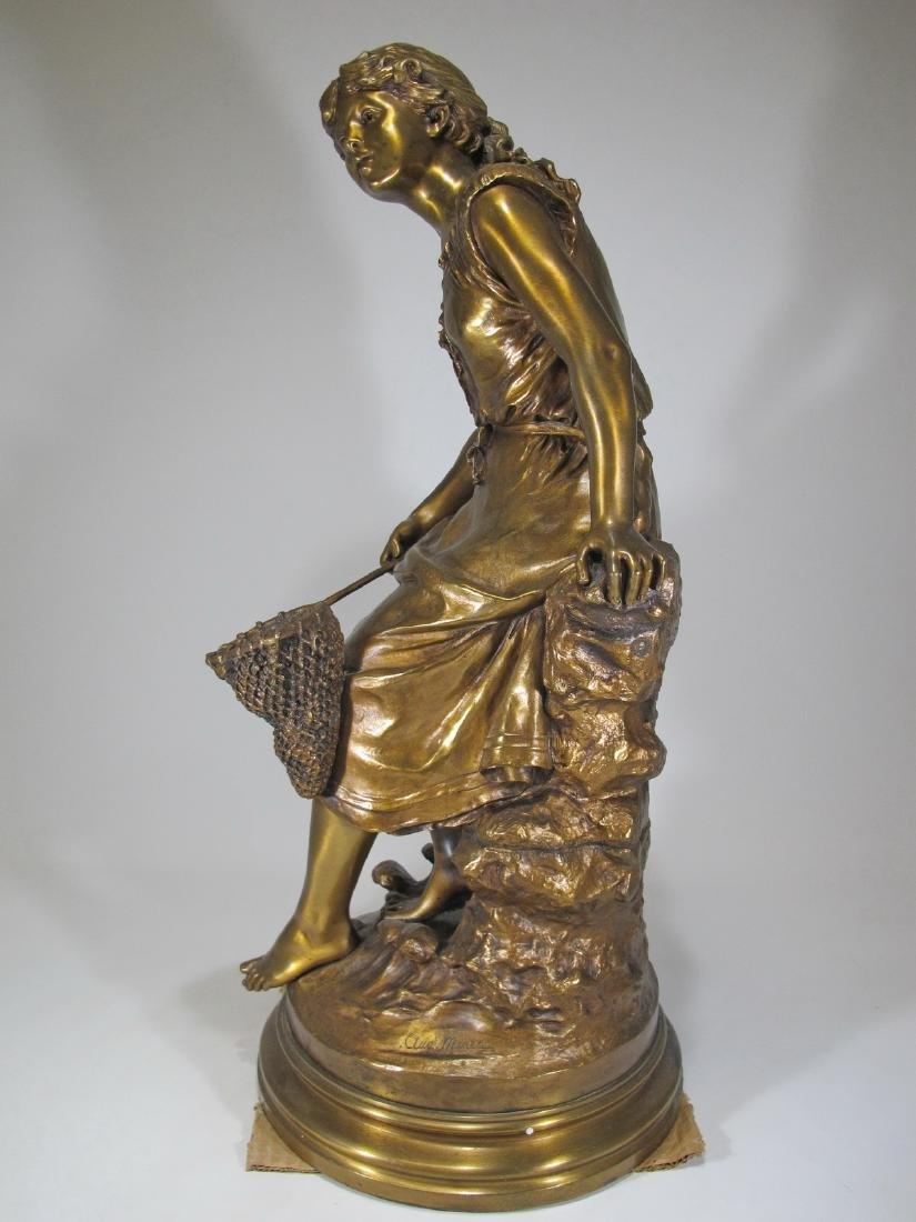 Auguste MOREAU (1834-1917) bronze sculpture - 7