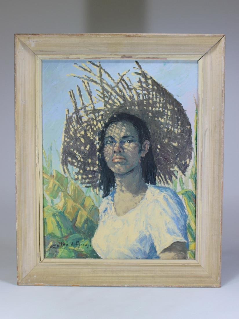 Cesar Calvo DE ARAUJO (1910-1970) Peruvian artist