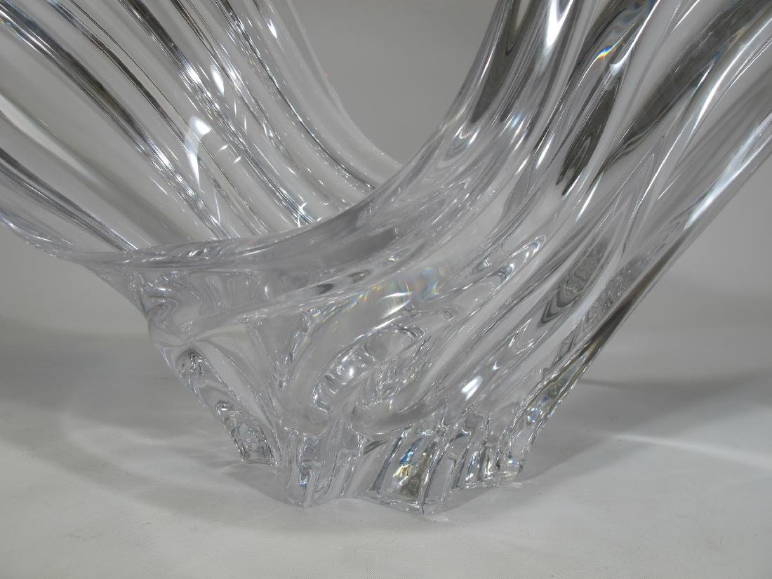 Art Vannes, France crystal centerpiece - 3