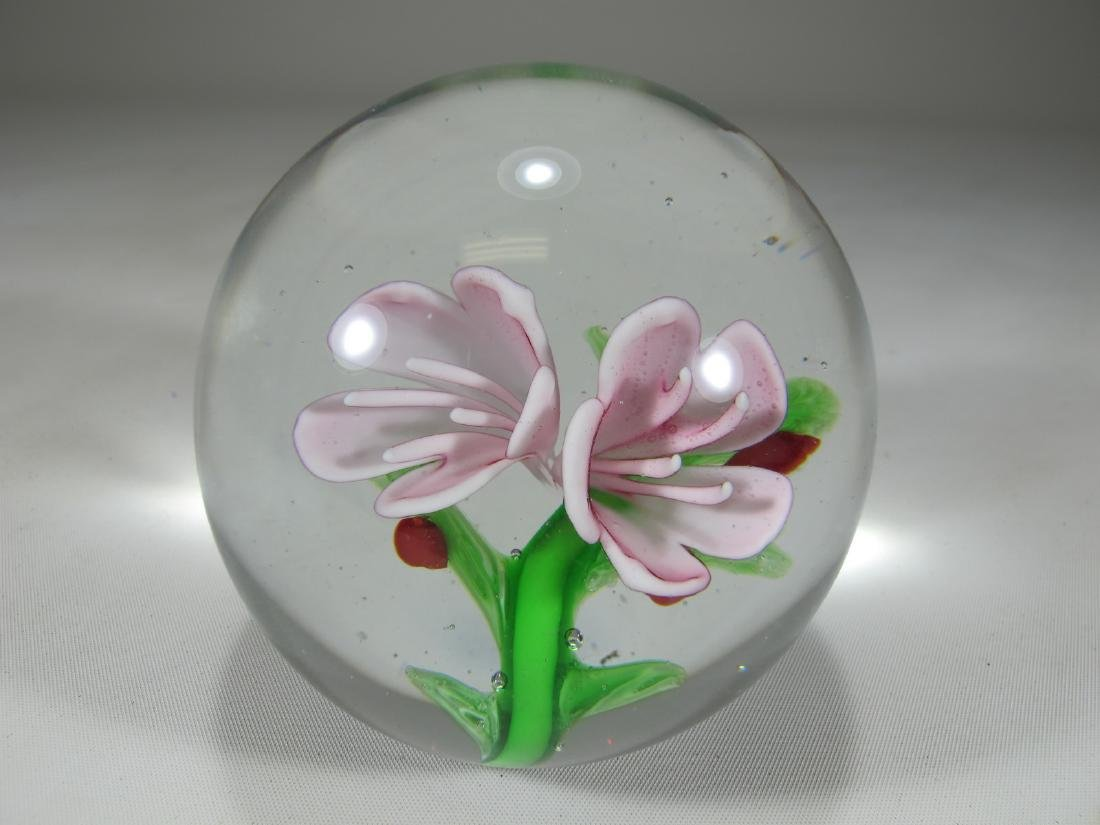Vintage Italian glass paperweight