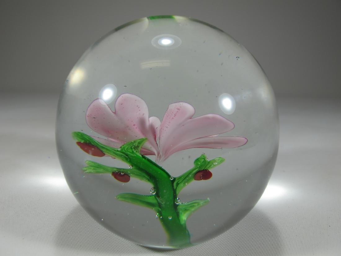 Vintage Italian glass paperweight - 3