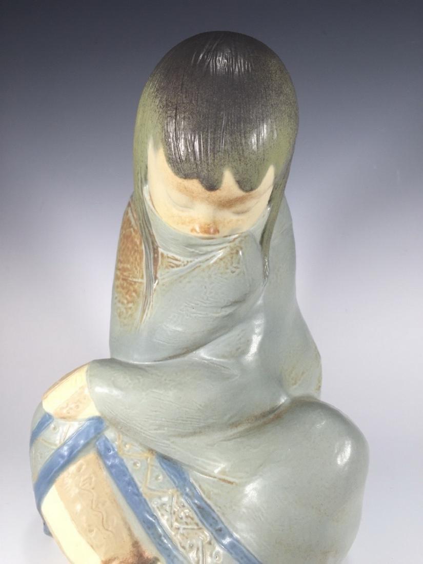 LLADRO Porcelain Figurine ESKIMO GIRL 2008.3 - 2
