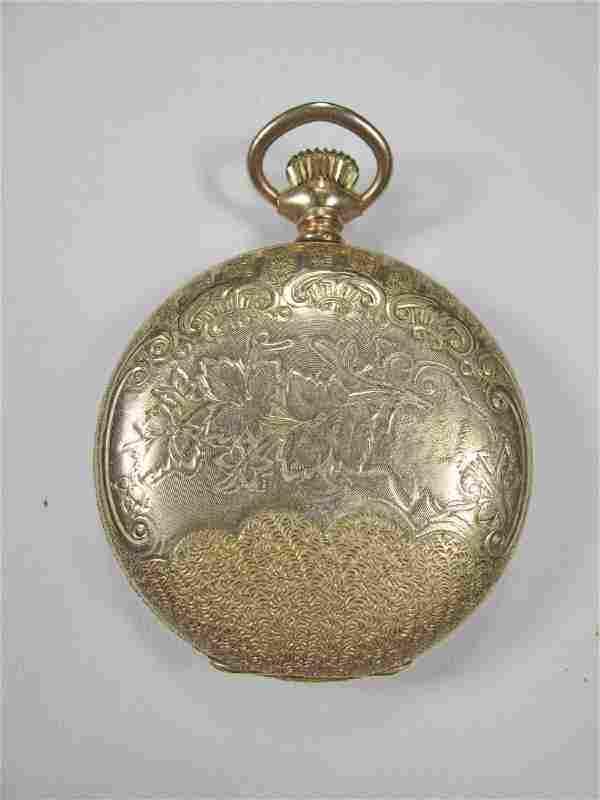Elgin probably 14k gold case pocket watch