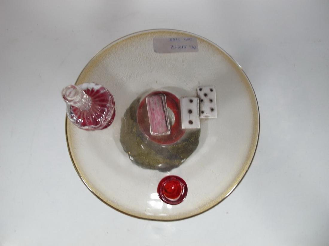 Antique rare Murano game table sculpture - 4