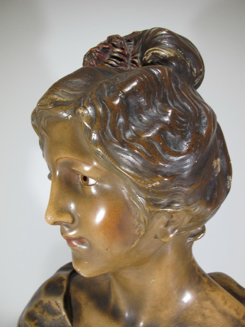 Affortunato GORY (1895-1925) terracotta bust - 10