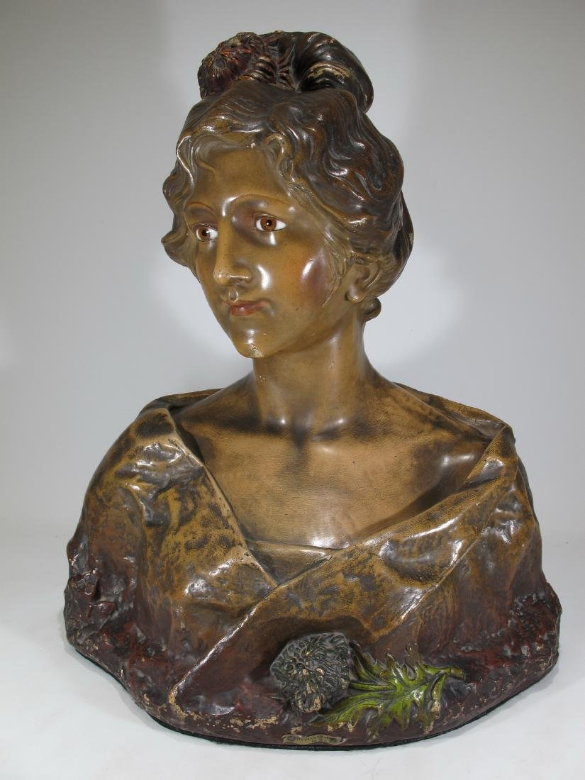Affortunato GORY (1895-1925) terracotta bust