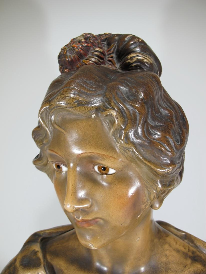 Affortunato GORY (1895-1925) terracotta bust - 2