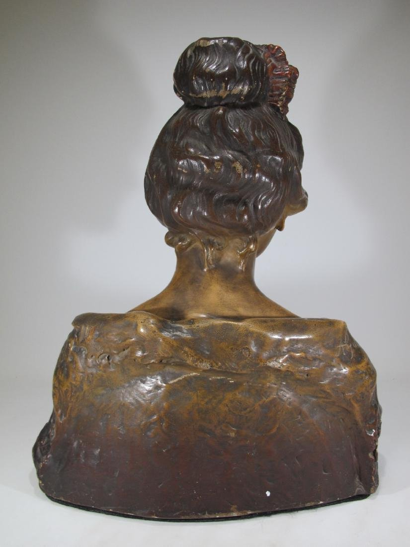 Affortunato GORY (1895-1925) terracotta bust - 8