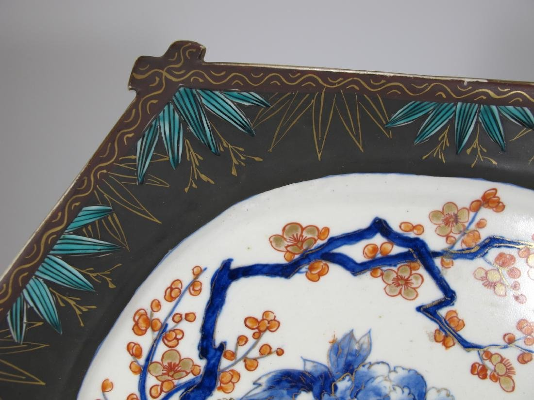 Rare Antique Chinese porcelain tray - 3