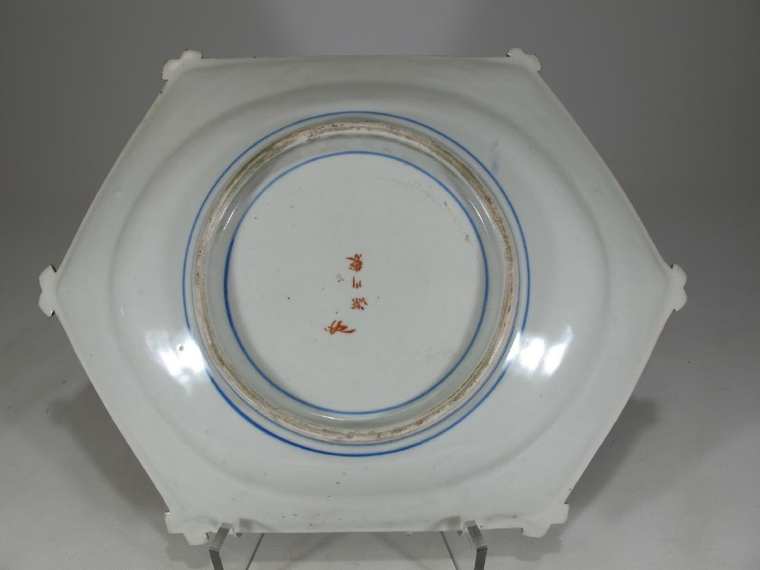 Rare Antique Chinese porcelain tray - 4