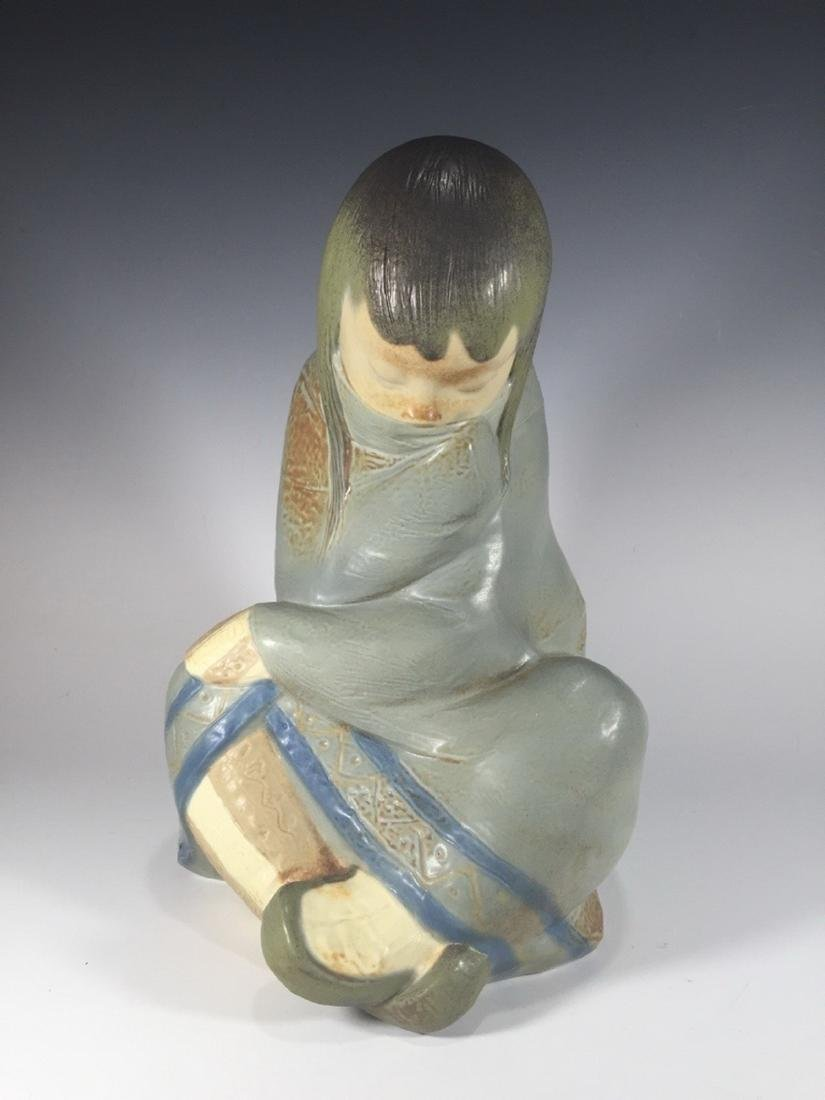 LLADRO Porcelain Figurine ESKIMO GIRL 2008.3
