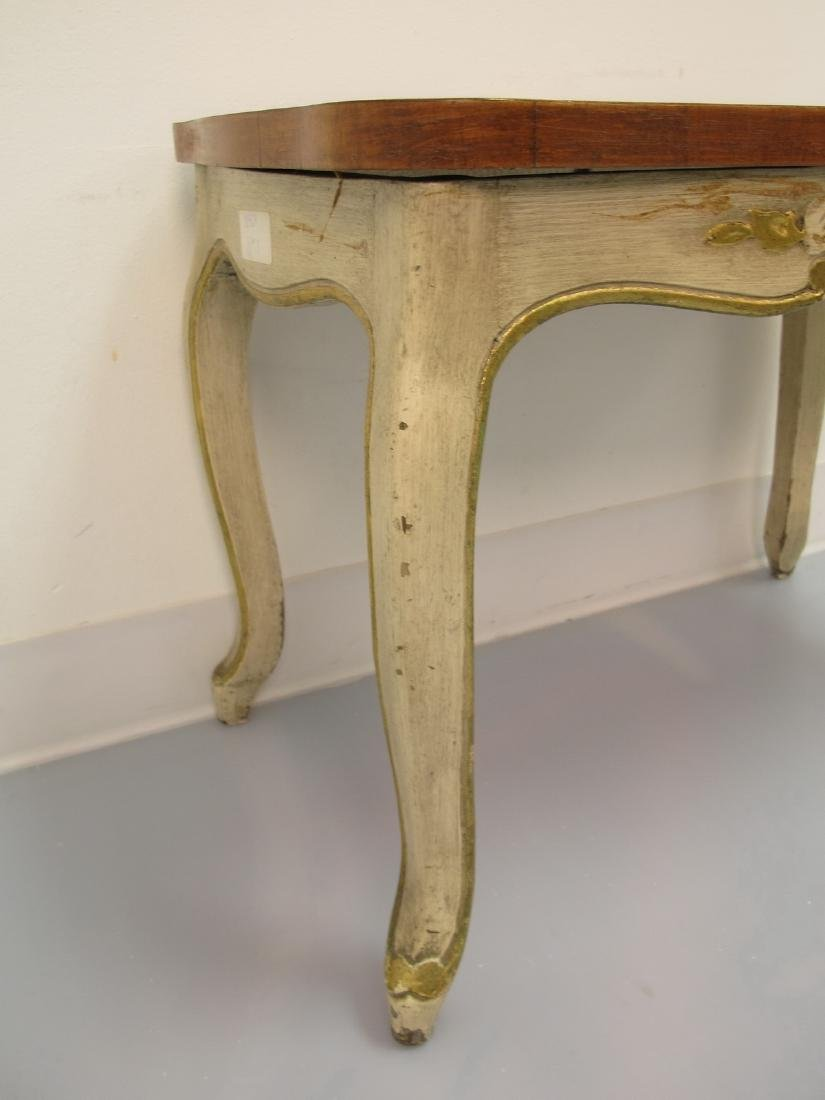 Vintage French Louis XV style patinated table - 6
