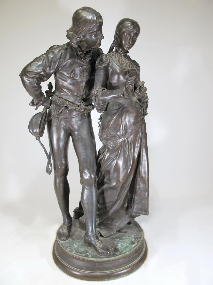 Adrien Etienne GAUDEZ (1845-1902) huge bronze sculpture