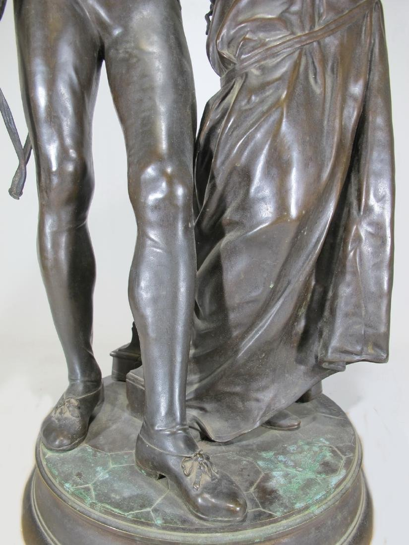 Adrien Etienne GAUDEZ (1845-1902) huge bronze sculpture - 5