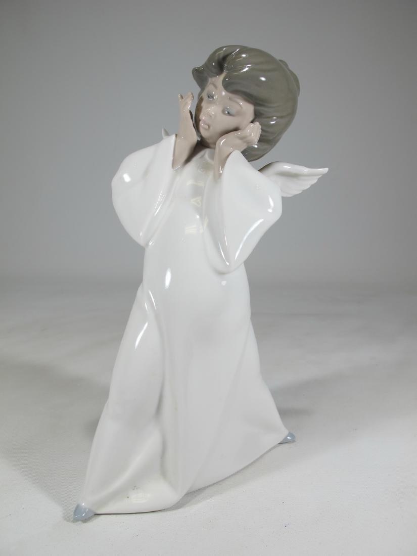 Lladro Mime Angel figurine