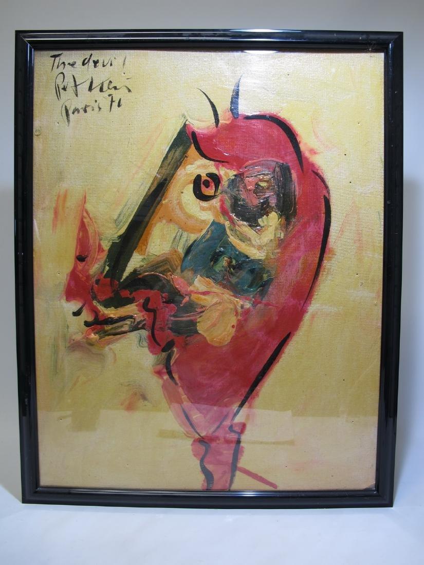 Peter Robert KEIL (1942)  painting, dated 1970