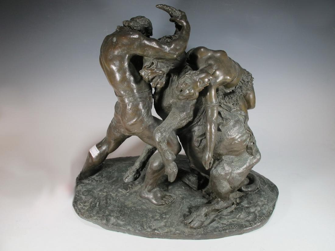 Enrico TADOLINI (1884-1967) Italian bronze statue