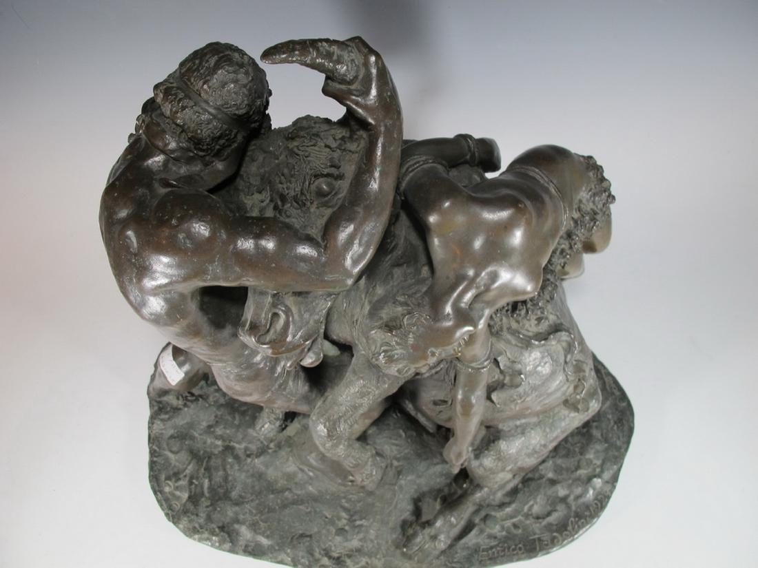 Enrico TADOLINI (1884-1967) Italian bronze statue - 4