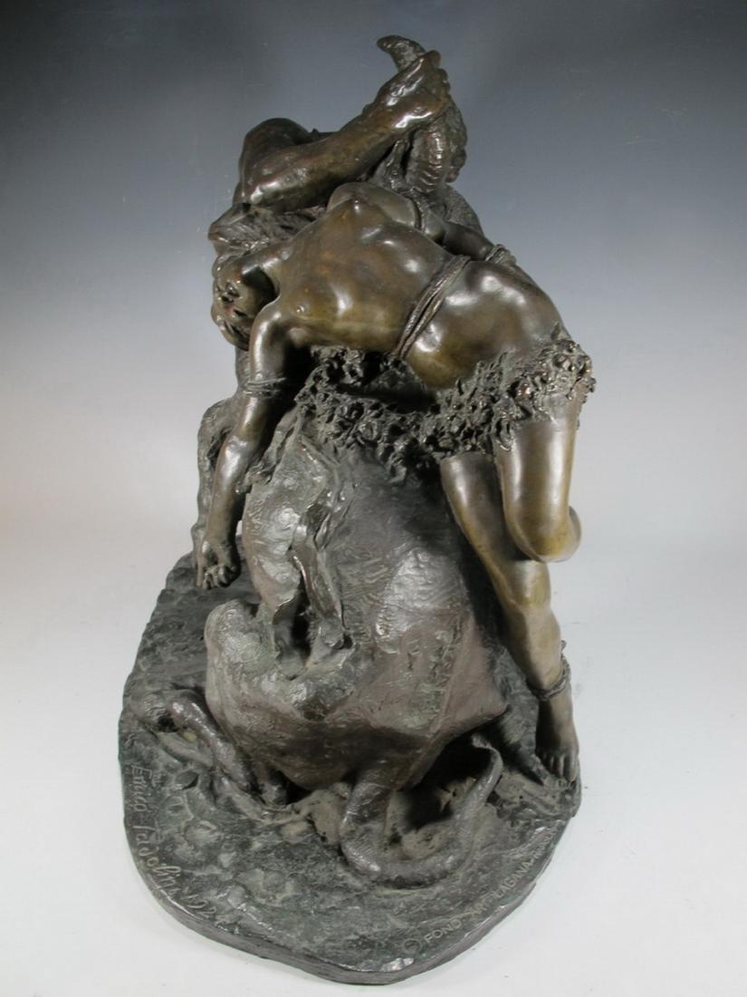Enrico TADOLINI (1884-1967) Italian bronze statue - 6