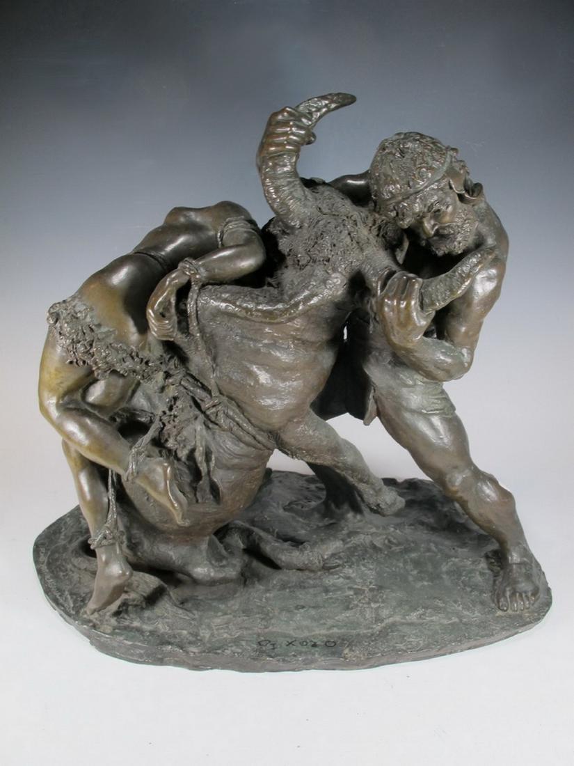 Enrico TADOLINI (1884-1967) Italian bronze statue - 8