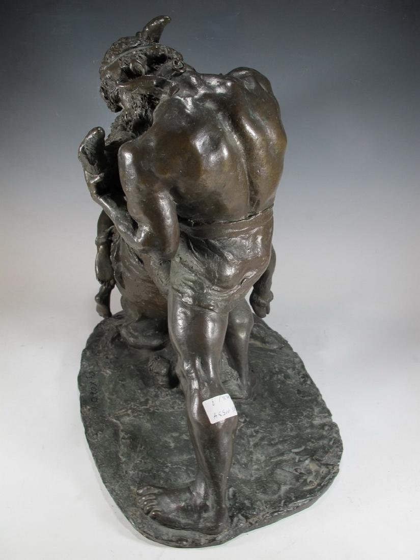 Enrico TADOLINI (1884-1967) Italian bronze statue - 9