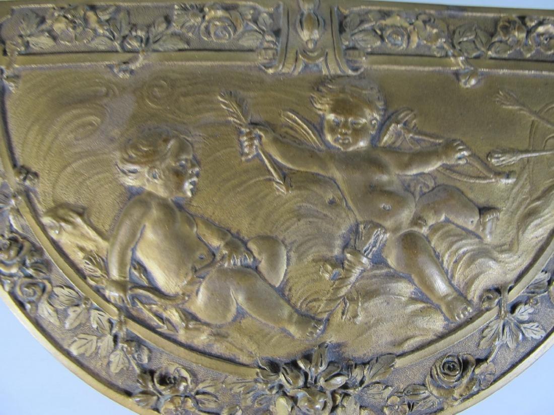 Antique French bronze jewelry box - 5