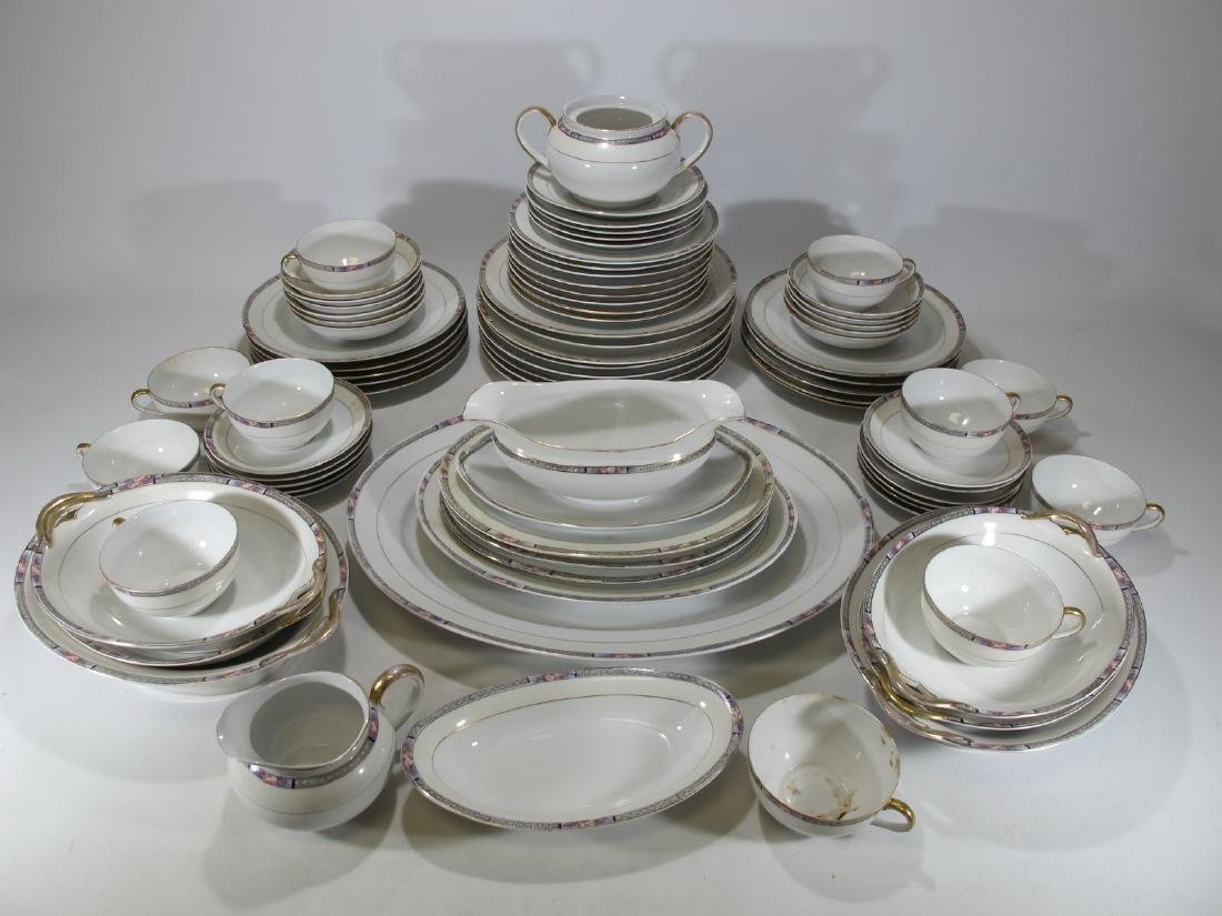 Noritake, Japan set of 79 porcelain pieces