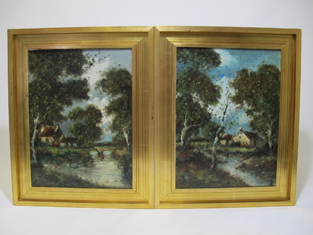 Paul MENARD Argentinian-French artist paintings