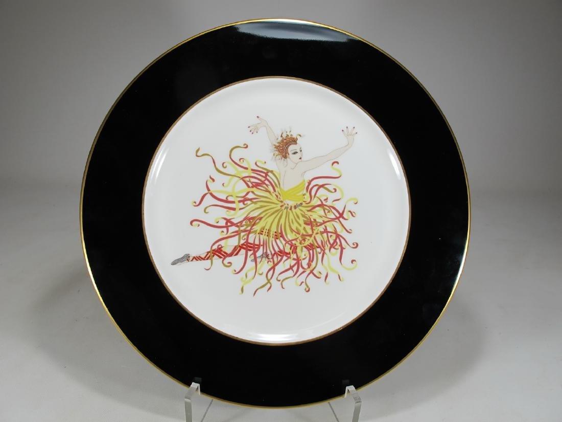 Erte applause A3081 , 1985 porcelain plate