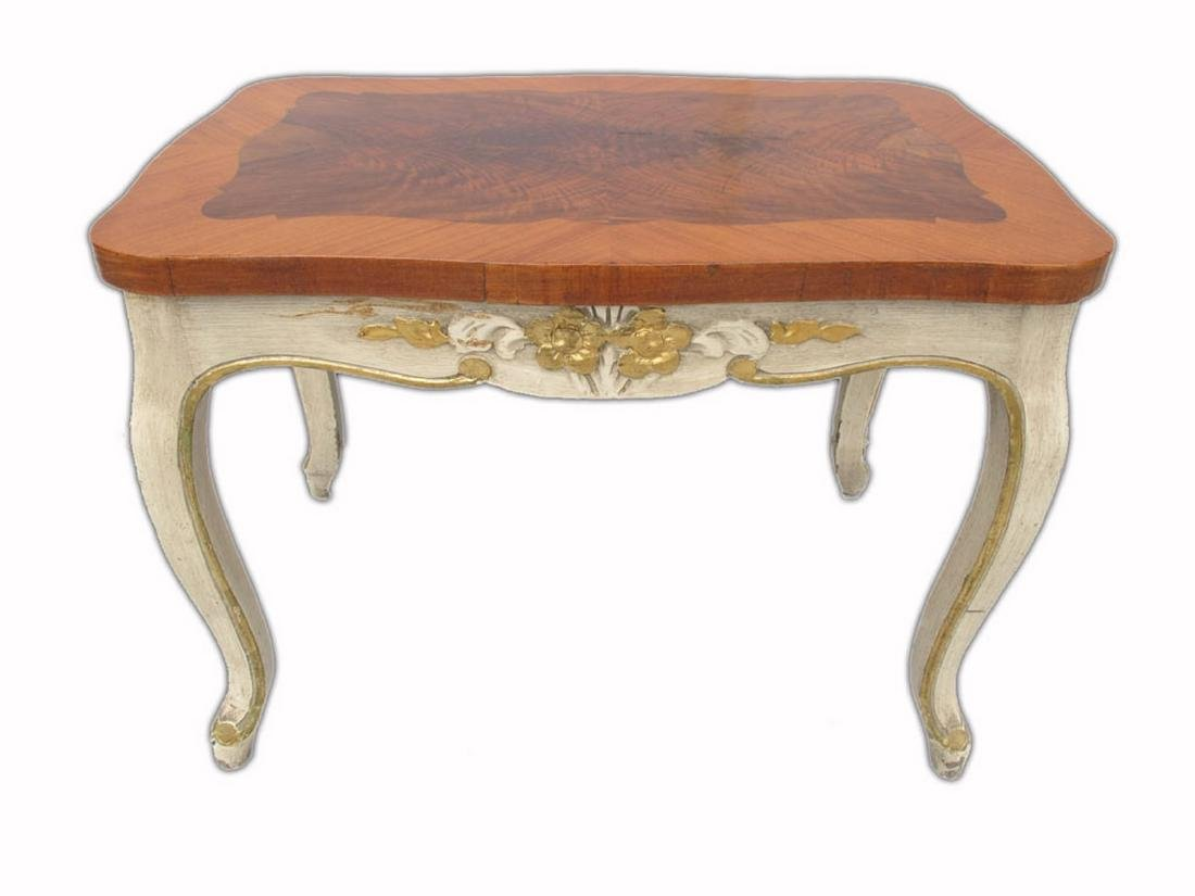 Vintage French Louis XV style patinated table