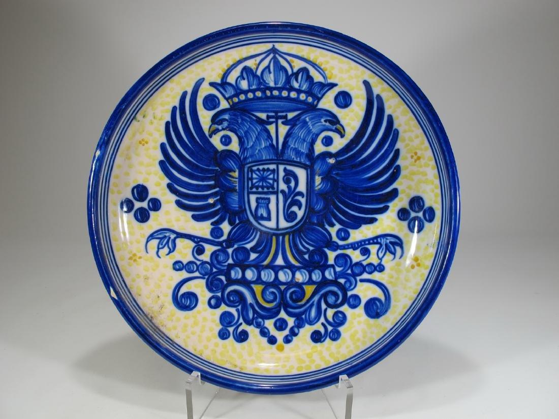 Puente Arzobispo, Toledo, Spain ceramic plate