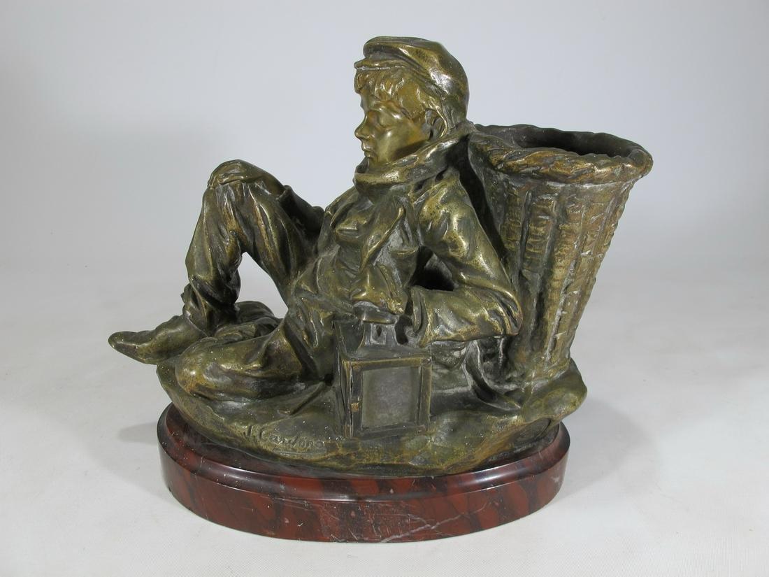 Jose CARDONA FURRO(1878-1923) bronze lamp
