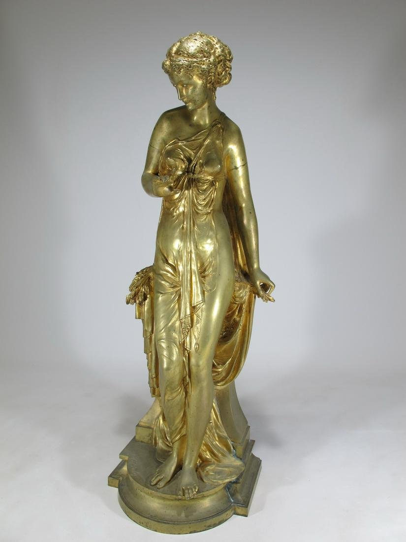Paul DUBOY (1830-c.1887) bronze statue