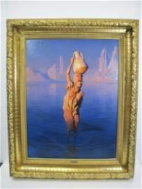 Adam STYKA (1890-1959) oil on canvas painting