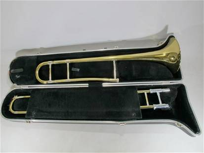 Trombone Frank Holton 65 Elkhorn WIS U.S.A. with Hard