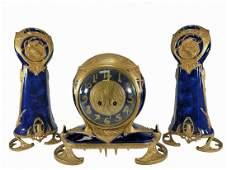 Louchet, Paris, Samuel Marti mechanism bronze &