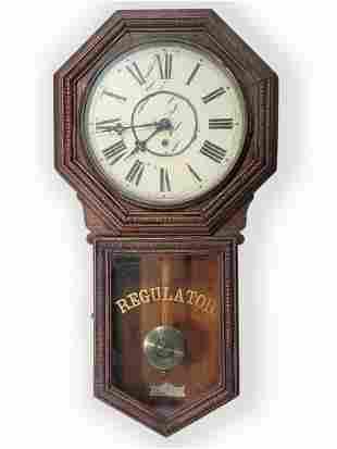 Waterbury Clock Co HERON Regulator wall clock