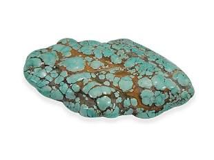 Vintage big turquoise stone