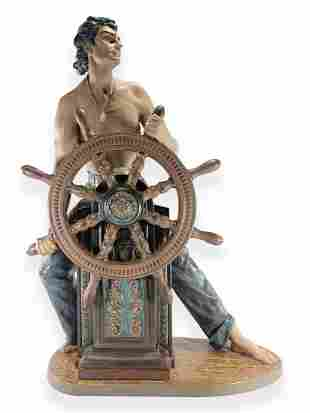 Lladro Stormy Sea Sailor Figurine