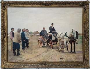 After Nicolaj Dmitrievic KUZNECOV (1850-1929) Russian p