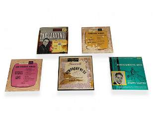 Vintage RCA Victor set of 5 records, 45RPM