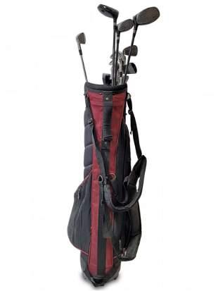 Dunlop golf tour bag with 11 pieces