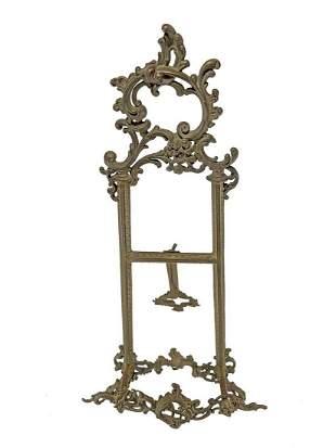Art Nouveau bronze lectern