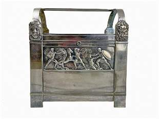 Antique German WMF silverplated box