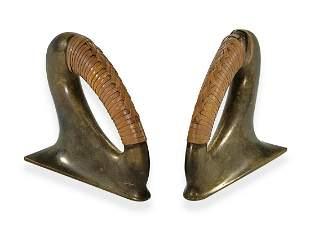 Carl AUBOCK (1900-1957), Austria pair of bronze bookend