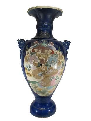 Vintage Chinese large porcelain urn