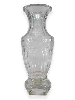 Rogaska Slatina, Slovenia crystal vase