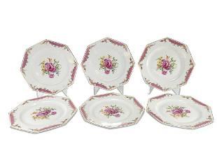 Vintage Rosenthal set of 6 porcelain plates