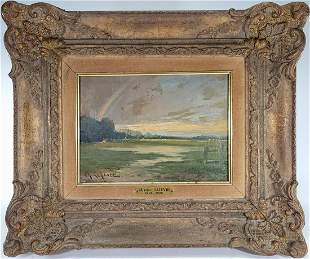 Charles LEFFEVRE (1813-1896) French oil on canvas